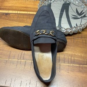 Vintage CHANEL Suede Shoes Size 36.5